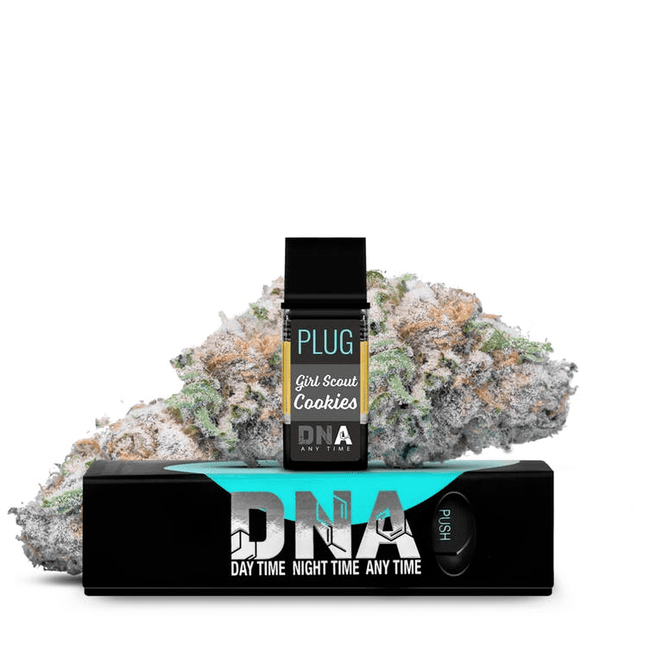PLUGPlay DNA Girl Scout Cookies Vape 1G Cartridge - The Balloon Room