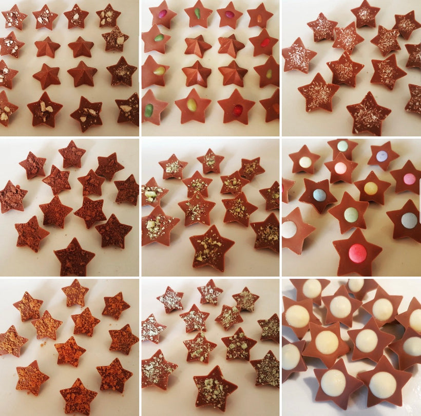 MILK CHOCOLATE STAR BITES