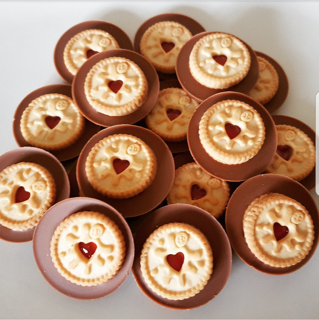 JAMMIE DODGER MILK CHOCOLATE CIRCLE