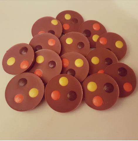 REESES PIECES MILK CHOCOLATE CIRCLES