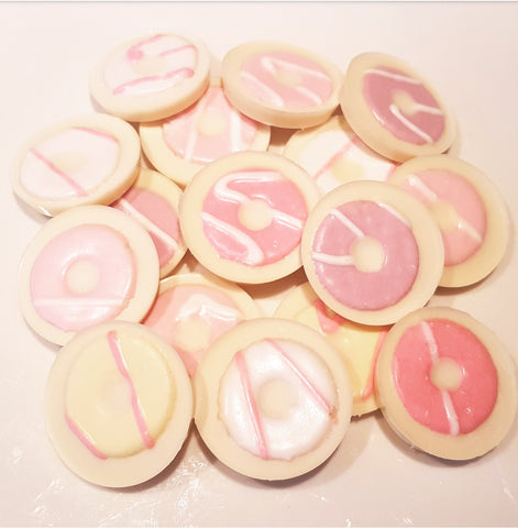 PARTY RING WHITE CHOCOLATE CIRCLES