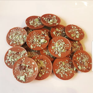 MINT AERO MILK CHOCOLATE CIRCLES