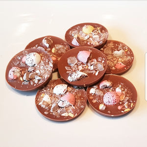MINI EGG MILK CHOCOLATE CIRCLES