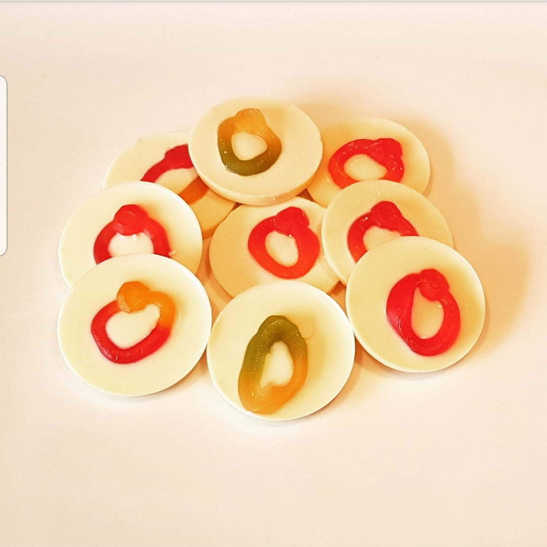 RING WHITE CHOCOLATE CIRCLES