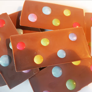 SMARTIES MILK CHOCOLATE SLAB
