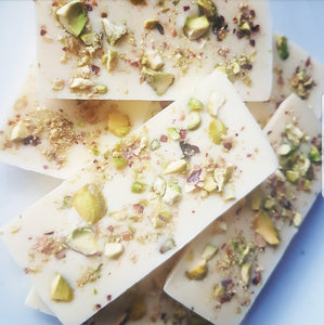 PISTACHIO WHITE CHOCOLATE SLAB