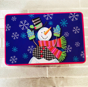 SNOWMAN CHRISTMAS TINS - SLABS