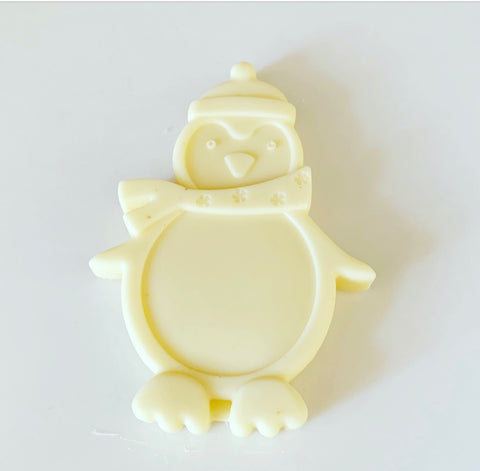LARGE SNOWMAN - WHITE CHOCOLATE