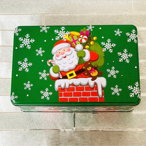 SANTA CHRISTMAS TINS - SLABS