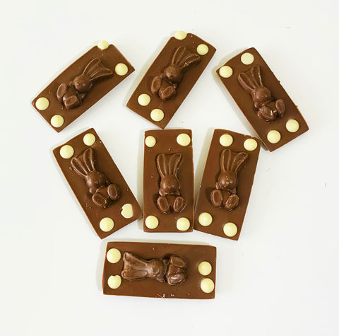 BUNNY MILK CHOCOLATE SLAB