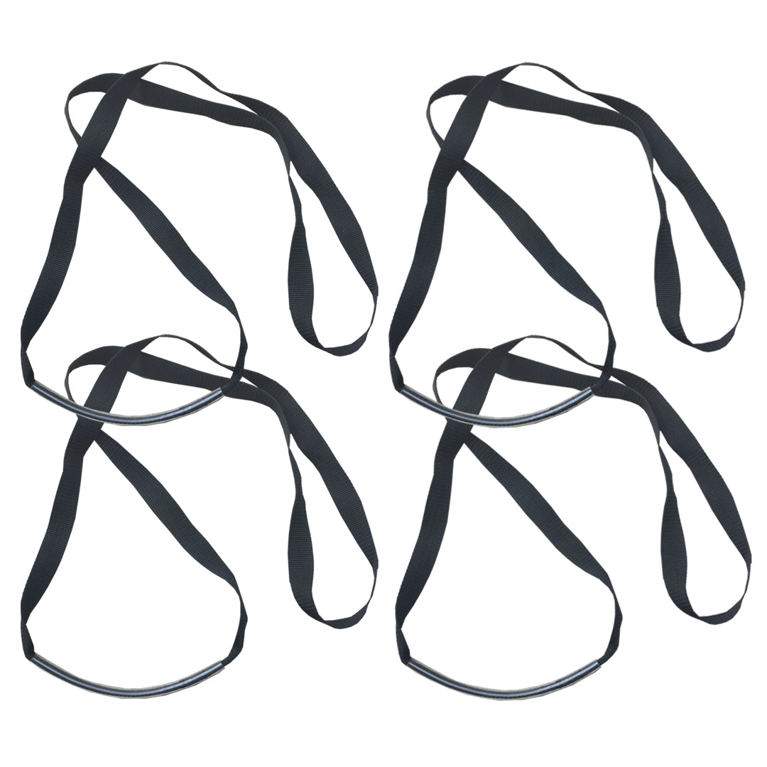 Pilates Studio Pro™ Long Anchor Strap set of 4 - outdoor portable pilates accessory