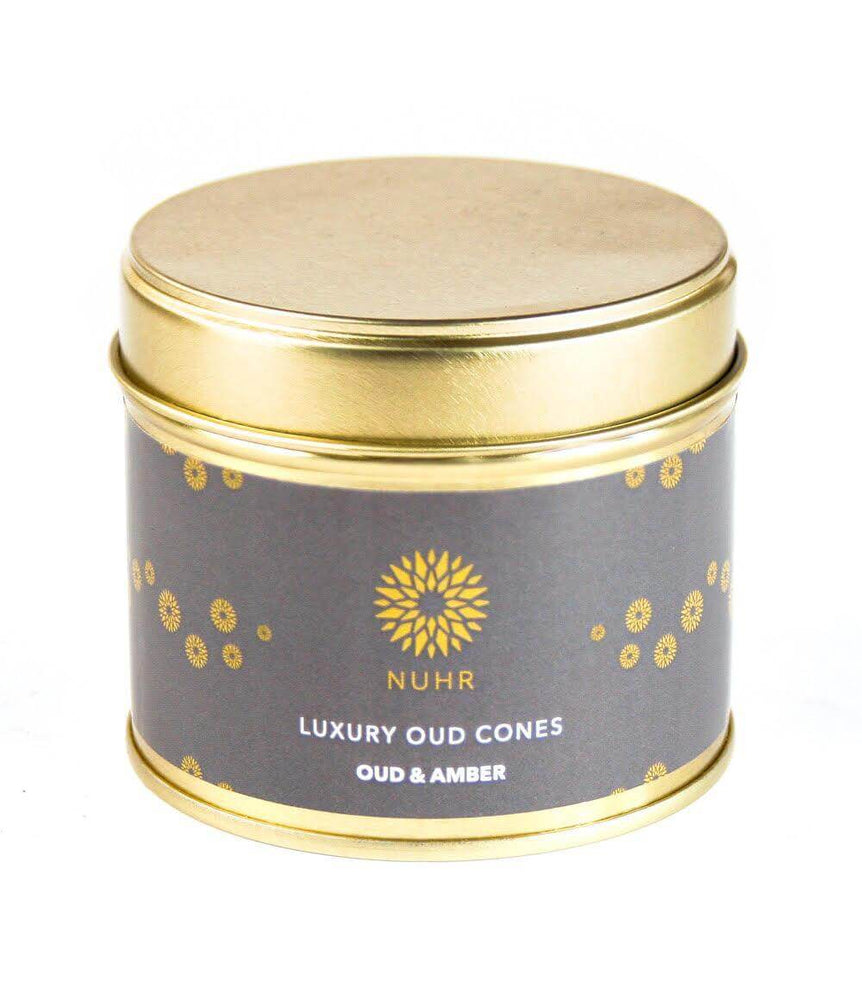 Luxury Oud Incense Cones - Oud and Amber - NUHR Home