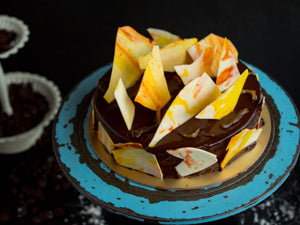 Dark Chocolate and Orange Cake