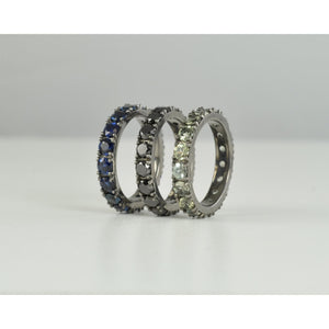 Black Ritha Eternity Rings