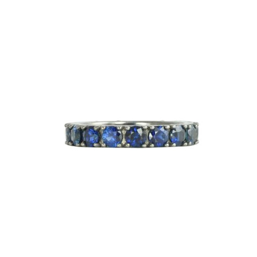 Blue Ritha Eternity Rings