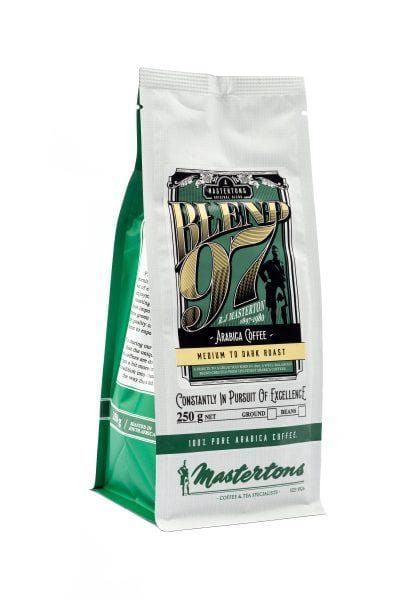 Mopani Pharmacy Household Mastertons African Farm Blend 97, 250g, Filter or Beans
