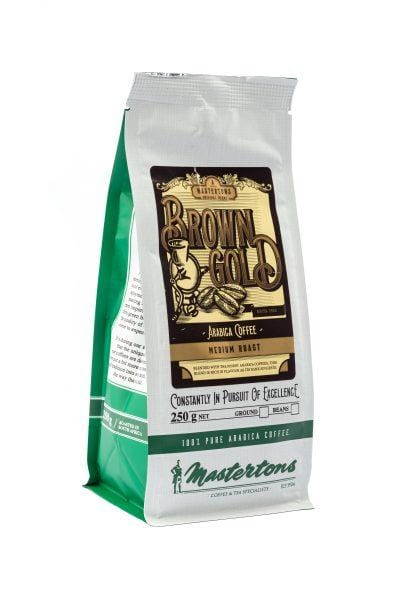 Mopani Pharmacy Household Mastertons Brown Gold, 250g, Filter or Beans