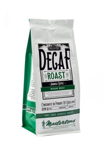 Mastertons Gourmet Coffee Mastertons Decaffeinated Filter, 250g 6009879868265 217932