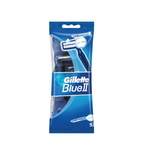 Gillette Toiletries Gillette Blue II Disposable Razors, 5's 7702018849031 101303