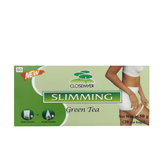 Mopani Pharmacy Vitamins Closemyer Slimming Green Tea, 20's 6931183900211 103690