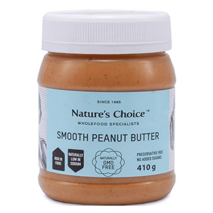 Mopani Pharmacy Health Foods Nature's Choice Smooth Peanut Butter, 410g 6007732000357 107789