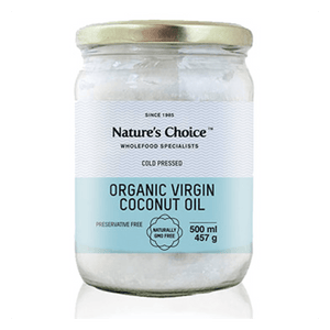 Mopani Pharmacy Health Foods Nature's Choice Organic Virgin Coconut Oil, 500ml 6007732019564 108357