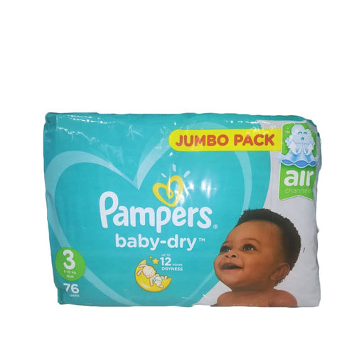 Pampers Active Baby 3 Midi, 76's