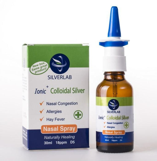 Silver Lab Health Colloidal Silver Nasal Spray, 30ml 6009823060110 111158