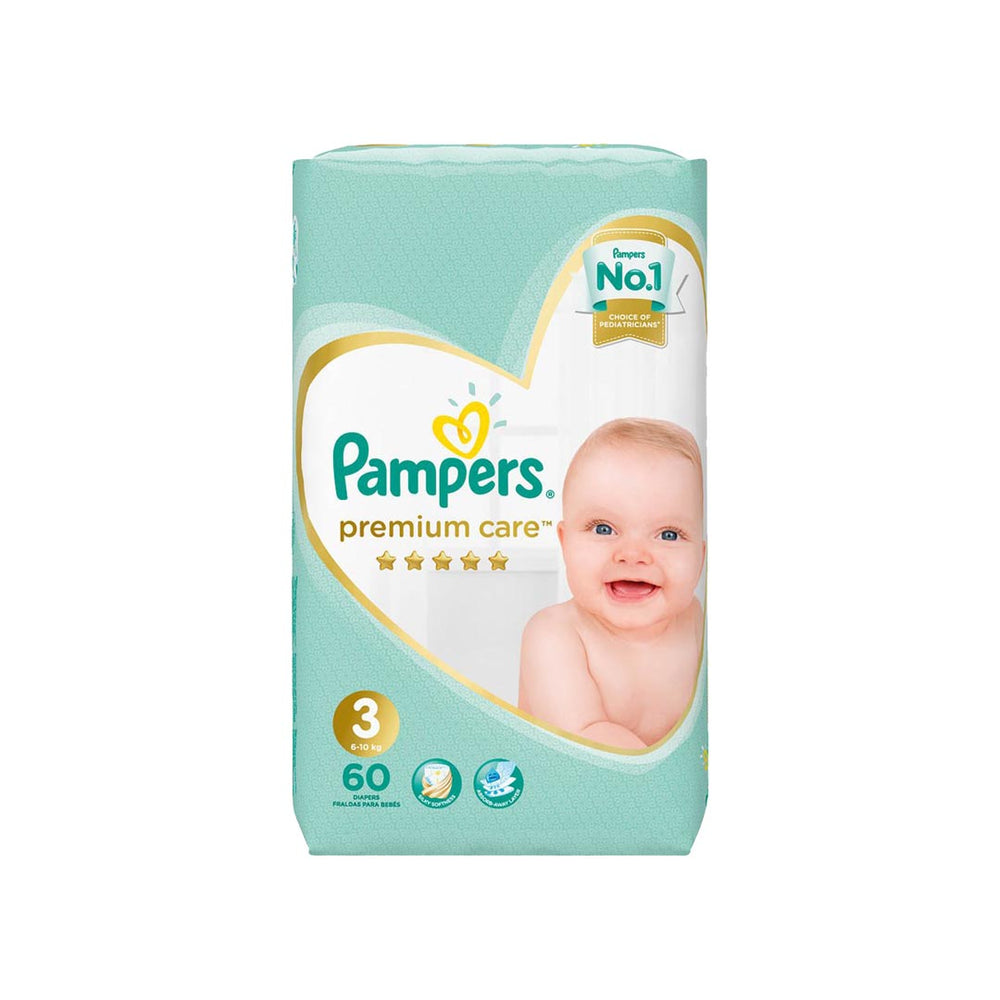 Pampers Premium Care No.3 Midi VP, 60's