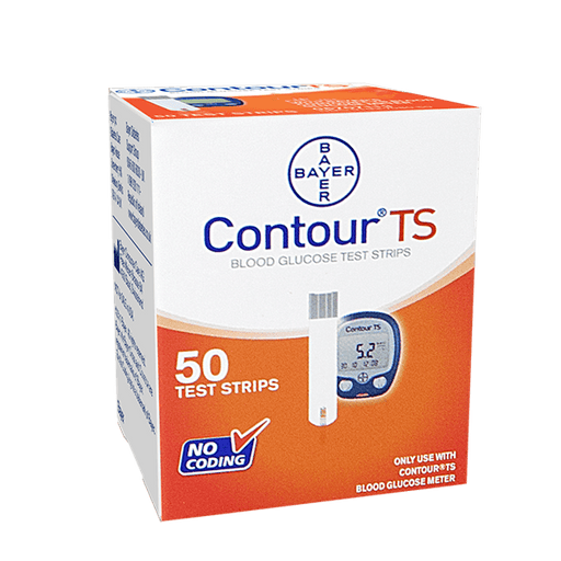 Contour TS Blood Glucose Test Strips, 50's