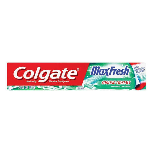Colgate Toiletries Colgate Toothpaste Max Fresh Clean Mint, 75ml 8850006326305 123484
