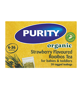 Purity Baby Purity Goodnight Tea Organic Rooibos Strawberry Bags, 20's 6009516200960 126696