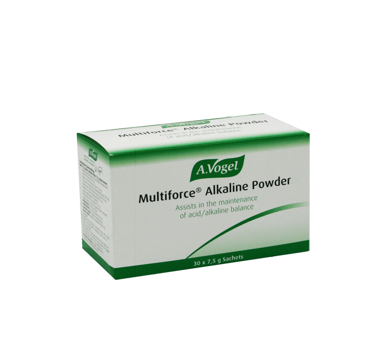 A. Vogel Vitamins A. Vogel Multiforce Alkaline Powder Sachets, 30's 6007650001382 129364