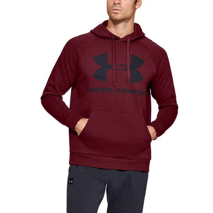 UA Rival Fleece Sportsyle Logo Hoodie, Assorted