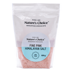 Mopani Pharmacy Health Foods Nature's Choice Fine Pink Himalayan Salt, 600g 6007732020263 135990