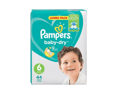 Pampers Active Baby 6 XL Nappies, 44's