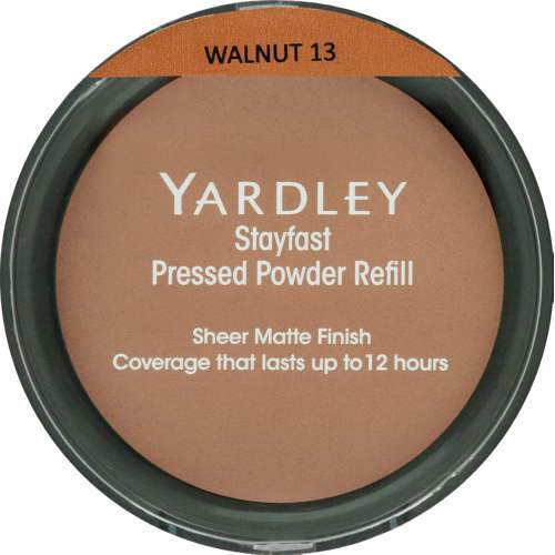 Yardley Beauty Yardley Stayfast Pressed Powder Refill Walnut 6001567194588 149887