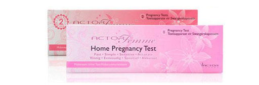 Actorfemme Health Actorfemme Pregnancy Test, 1's 6009802743676 164507