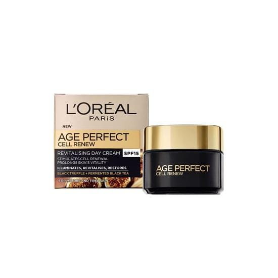 L'Oreal Cosmetics L'Oréal Age Perfect Cell Renew Revitalising Day Cream SPF15, 50ml 3600522323297 167389