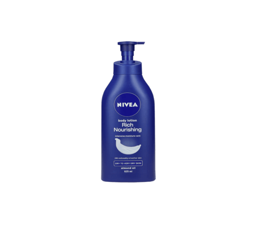 Nivea Rich Nourishing Body Lotion, 625ml