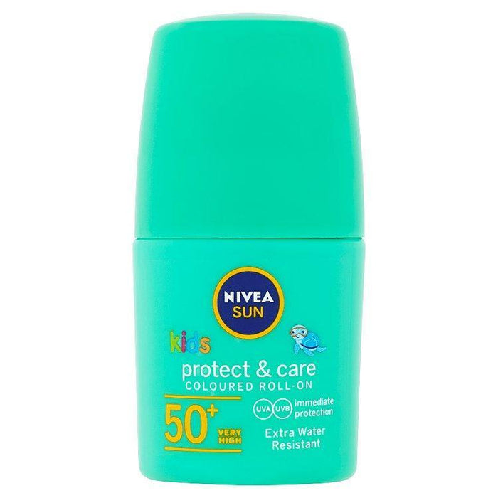 Nivea Toiletries Nivea Kids Protect & Care Green Roll On SPF50+, 50ml 42360759 235392