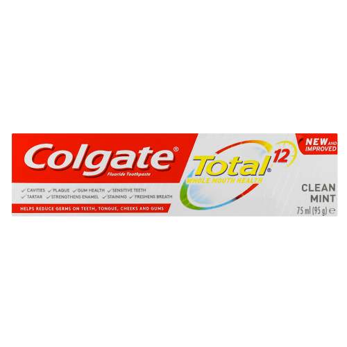 Colgate Toiletries Colgate Total Fluride Toothpaste, 75ml 6920354819681 170510