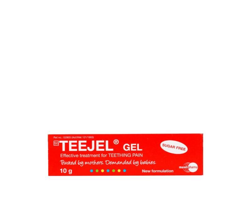 Teejel Baby Teejel Teething Gel, 10g 6009802837191 173111