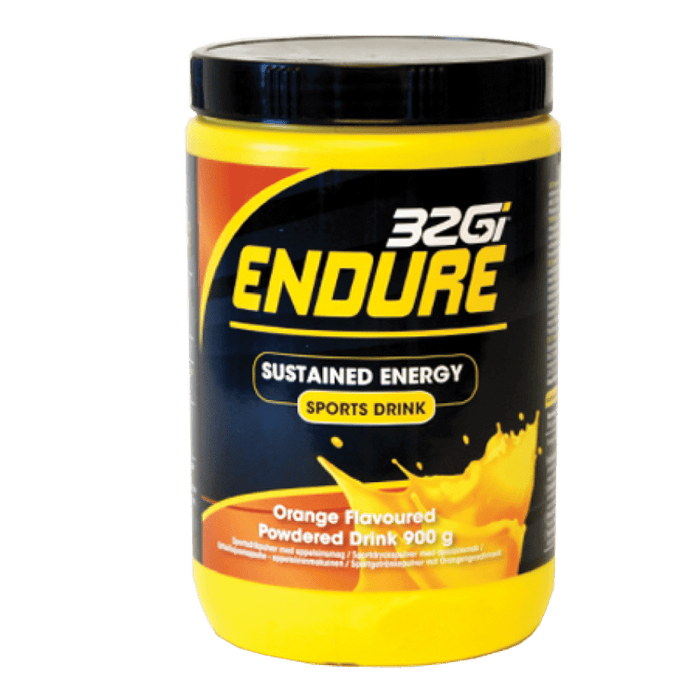 32Gi Endure Sustained Energy Sports Drink Orange, 900g