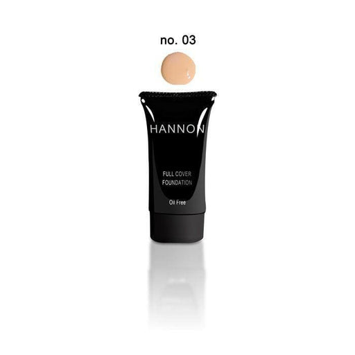 Hannon Full Cover Liquid Foundation No.3