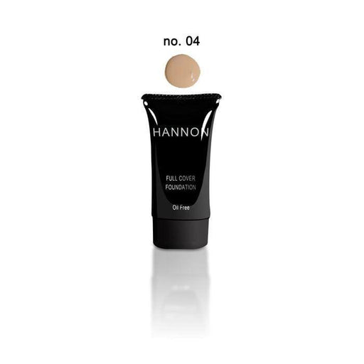Hannon Beauty Hannon Full Cover Liquid Foundation No.4 6009800445749 177049