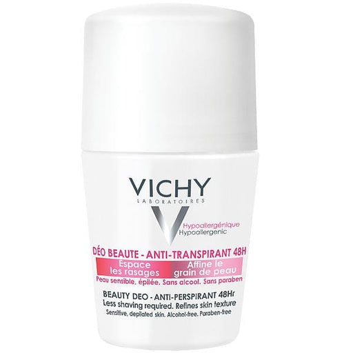 Vichy Beauty Deo Anti-Perspirant 48Hr Roll-on, 50ml