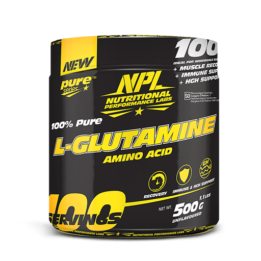 NPL Sports Nutrition NPL L-Glutamine, 500g 6009879963120 181608
