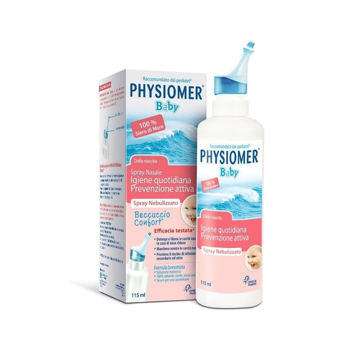 Physiomer Baby Physiomer Baby Mist Spray, 115ml 3564300031234 181934