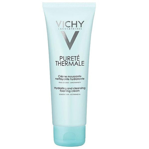 Vichy Purete Thermale Hydrating and Cleansing Foaming Cream – Sensitive Skin, 125ml